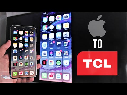 Screen Mirroring IPhone XS To TCL TV (Wirelessly No Cables No Laptop) - 2020
