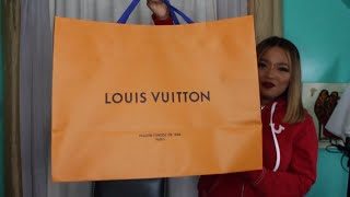 LOUIS VUITTON UNBOXING!! &CHRISTIAN LOUBOUTIN SO KATE 120MM