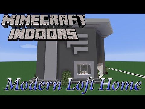 Modern Loft Home - Minecraft Indoors Interior Design