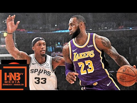 Los Angeles Lakers vs San Antonio Spurs Full Game Highlights | 12.07.2018, NBA Season