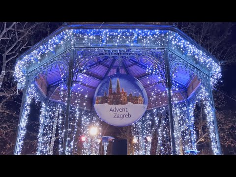 Advent In Zagreb 2019 / 2020 4K | Christmas Market | Huawei P30 Pro
