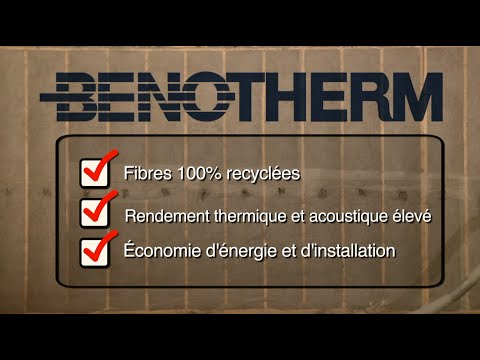 Benolec beno therm isolant de cellulose thermique et - Isolant thermique et acoustique ...