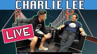 CHARLIE LEE Litecoin Summit Interview LIVE!