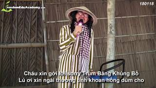 Thầy Tuấn Ngọc hát tặng Trịnh Xuân Thanh - Trách Ai Thanh Trừng - Trách Ai Vô Tình (chế)