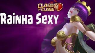 Centro de Vila 9 em Busca da Rainha Sexy - Clash of Clans