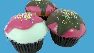 Como usar el fondant liquido (poured fondant): cupcakes, cake balls y cake pops