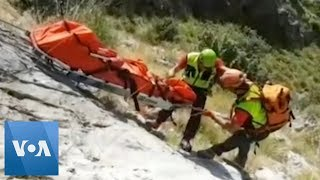 Italian Rescue Team Recovers Body of Lost French Hiker