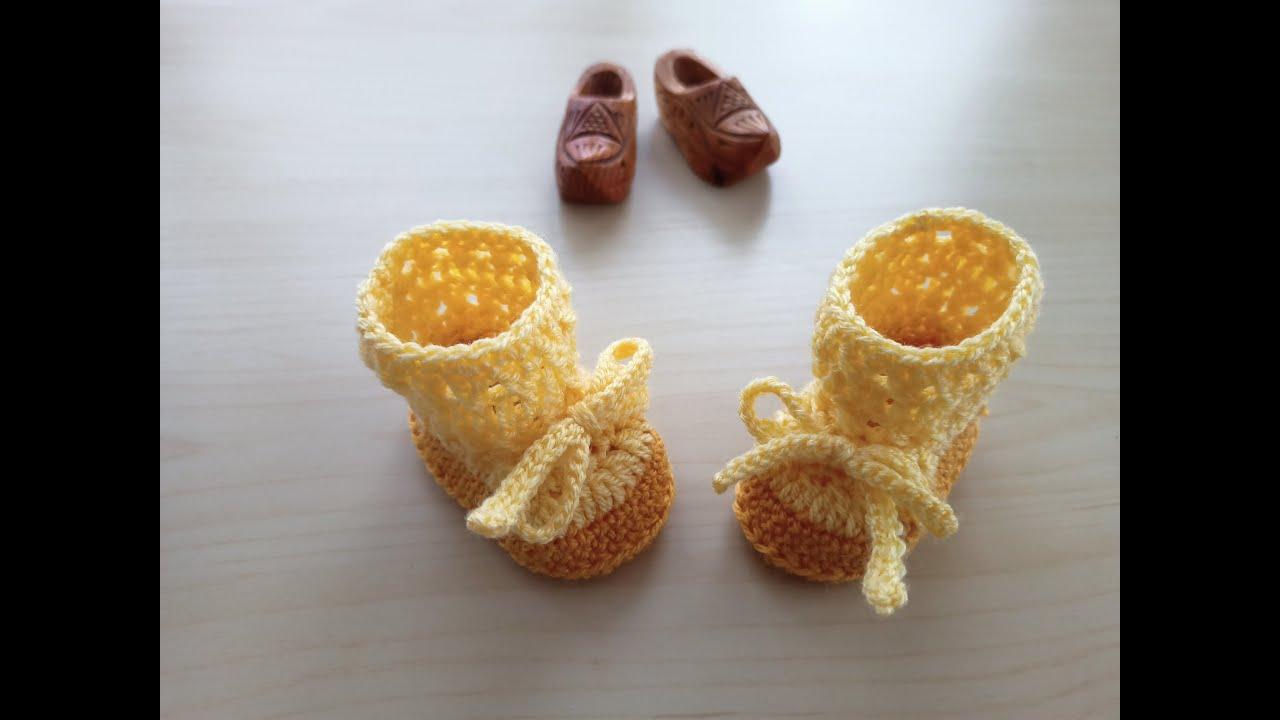 Botitas amarillas y mostaza