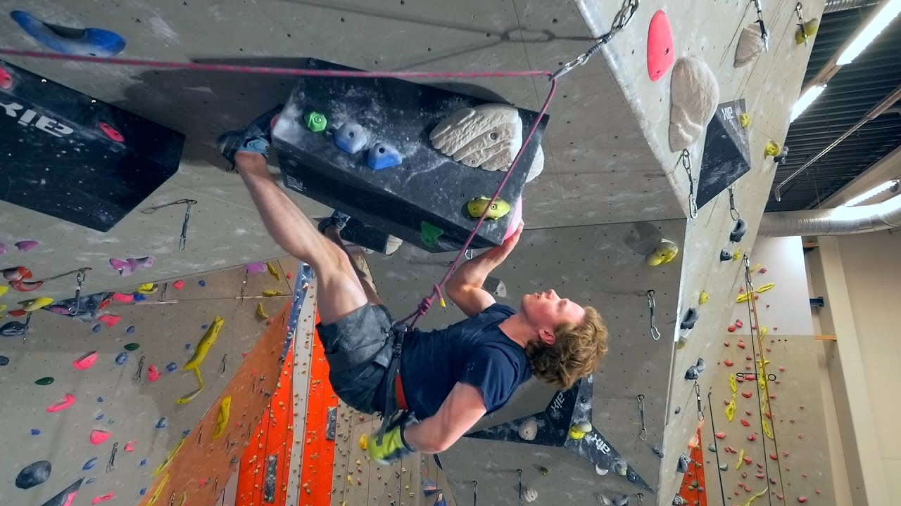 Download IT HAPPENED!! Nikken Is Sport Climbing On A 8c!
