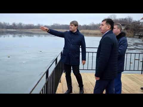 Подвесной мост Семикаракорска 2019