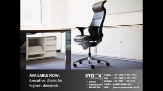 Modern Executive Office Chairs And Office Furniture With High Gloss Reception Desks