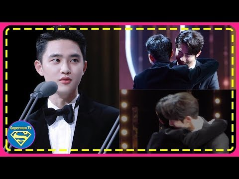 Fans Smiled Upon The Huge Expression Change EXO D.O Had When He Saw Nam Joohyuk Approaching..