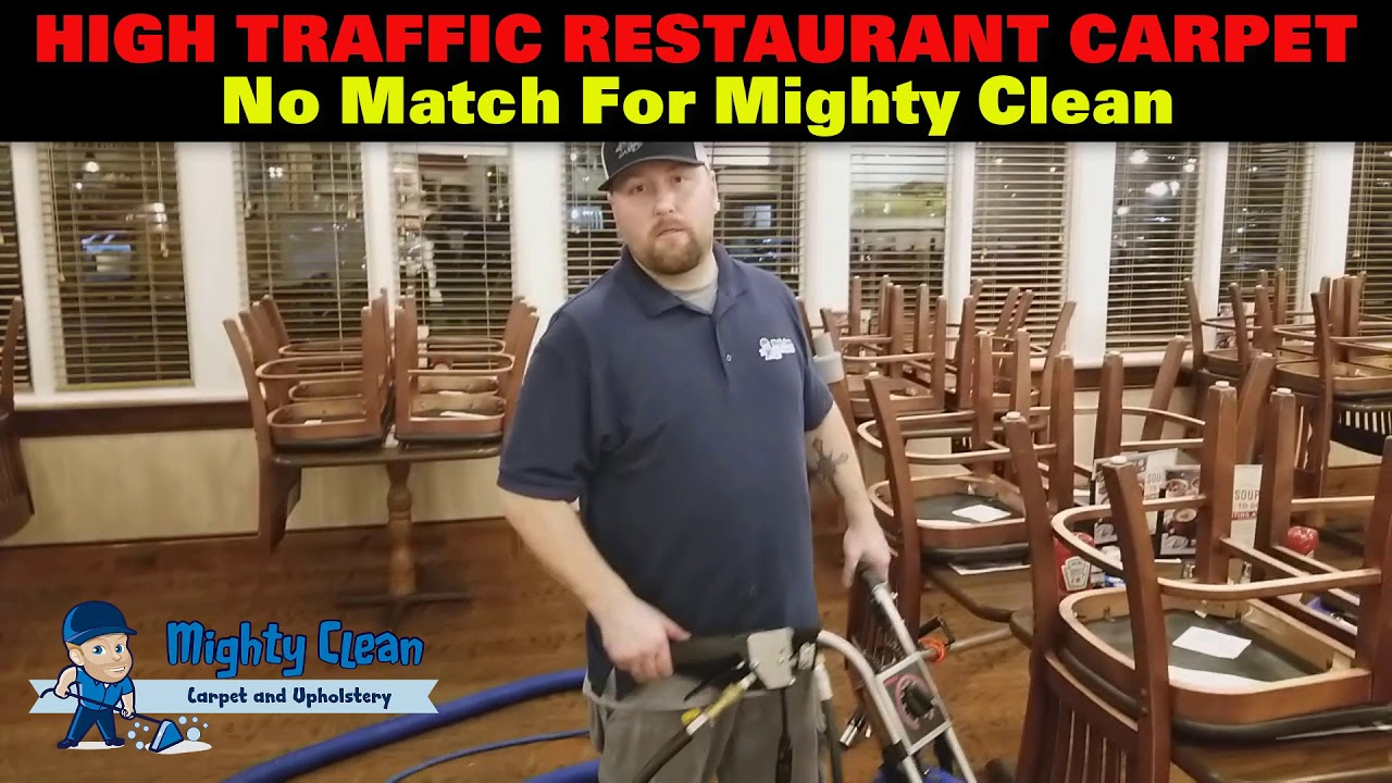 Restaurant Carpet Cleaning Downriver Michigan Youtube