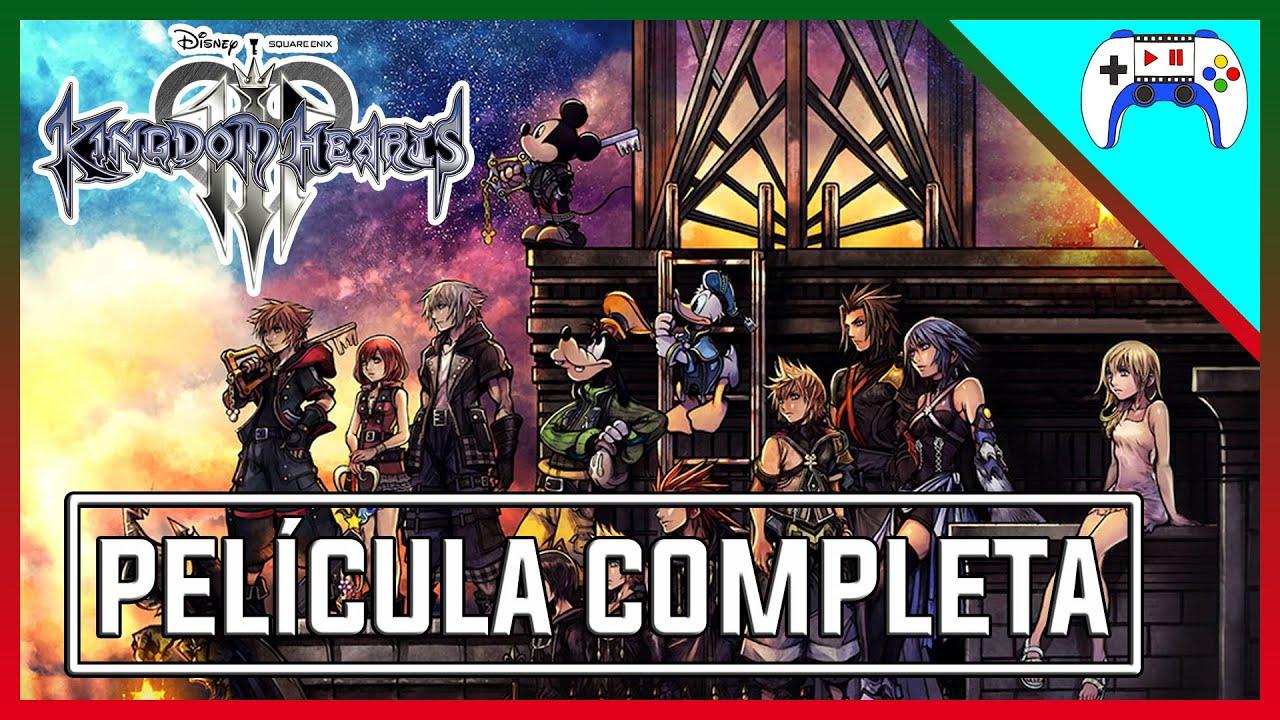 Kingdom Hearts 3 Pelicula Completa En Espanol Final Secreto Ps4 Pelijuegos Youtube
