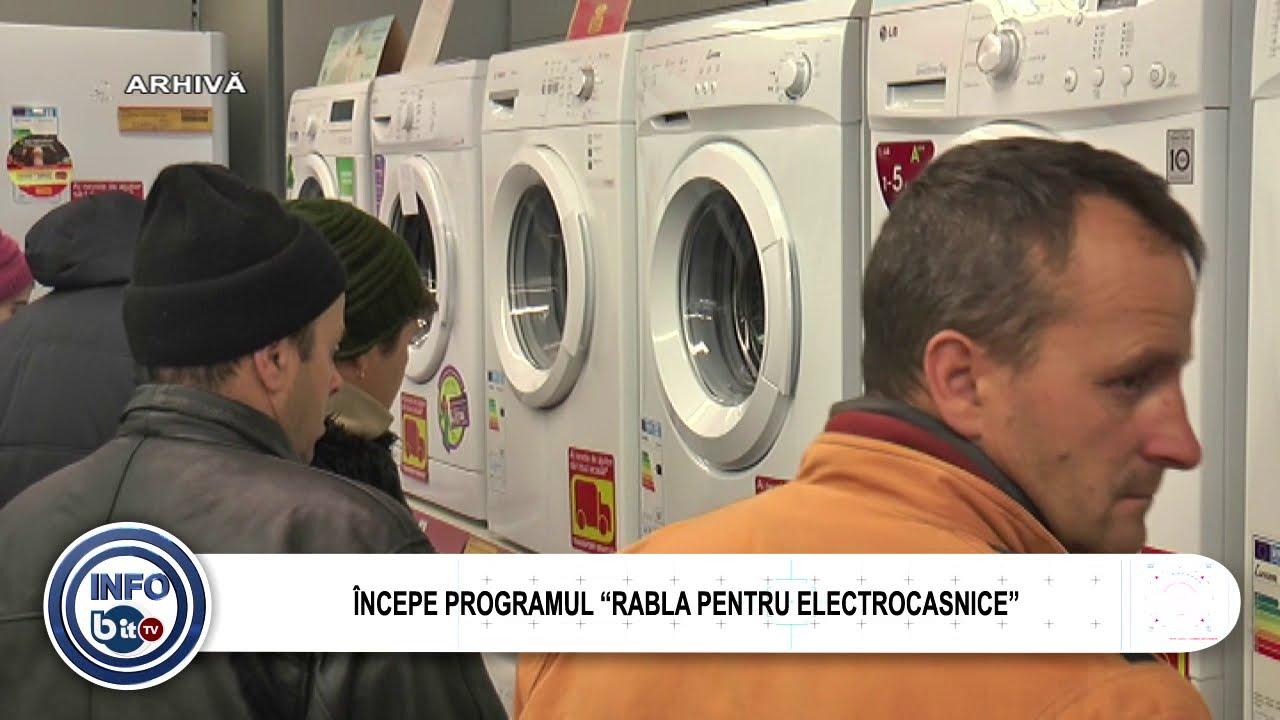 """ÎNCEPE PROGRAMUL """"RABLA PENTRU ELECTROCASNICE"""""""