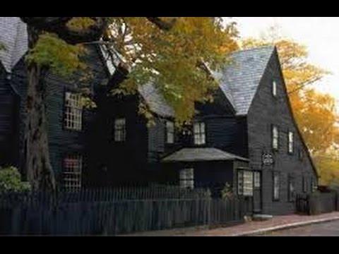 Real Haunted Houses :House of the Seven Gables, Salem, Massachusetts
