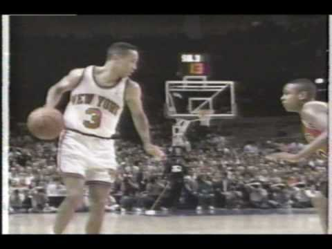John Starks NBA Sixth Man Of The Year segment