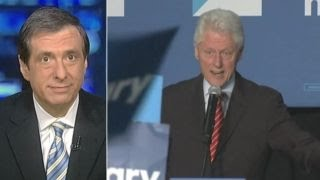 Kurtz: Bill Clinton gets mad