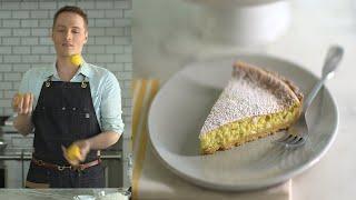 Lemon Curd Souffle Tart - The Slice with Greg Lofts