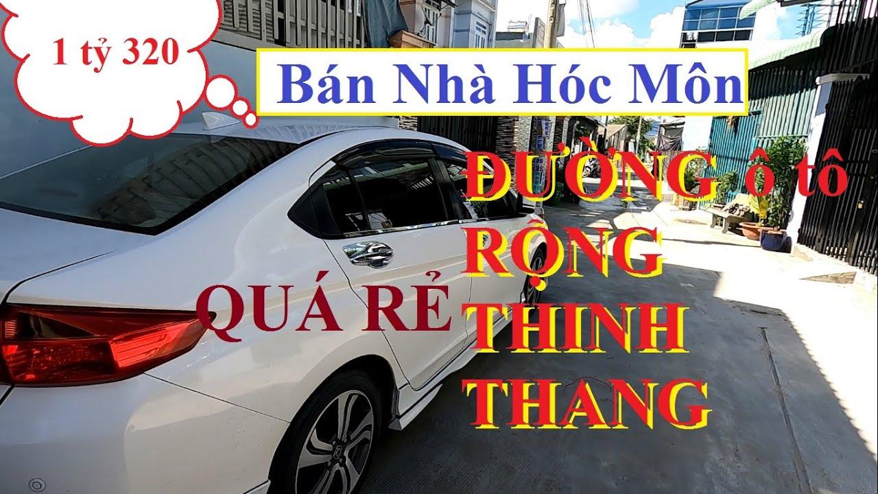 Bán nhà hóc môn 2020 giá rẻ đúc 1 trệt 1 lầu đường Phan Văn Hớn Chợ Xuân Thới Thượng Chợ Đại Hải