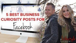 Network Marketing | Best Ideas For Curiosity Posts On Facebook