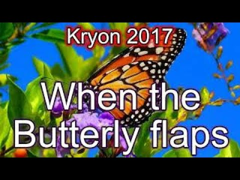 Kryon in Newport, California (Dec 4, 2016) When the butterly flaps..