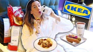 Ich lebe & esse NUR im IKEA für 24 Stunden..