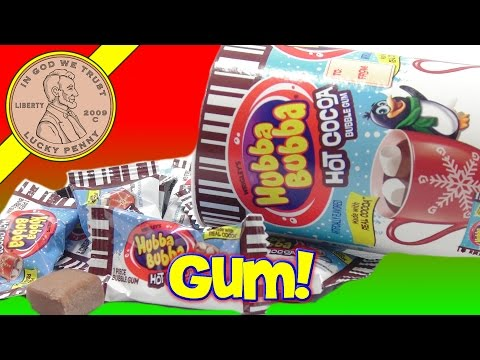 Hubba Bubba Hot Cocoa Bubble Gum Wrigley Jr Tasted Like a Hot Cocoa, Just Not Hot! fragman