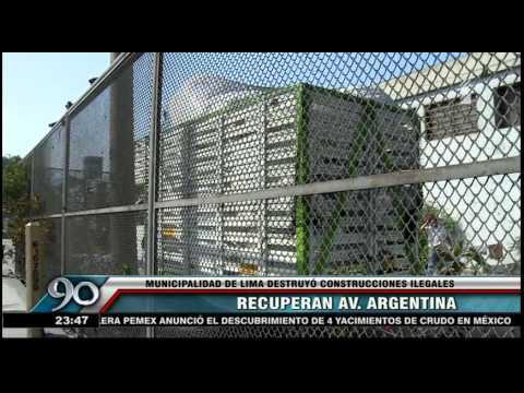 Mira cómo la Municipalidad de Lima recupera la avenida Argentina