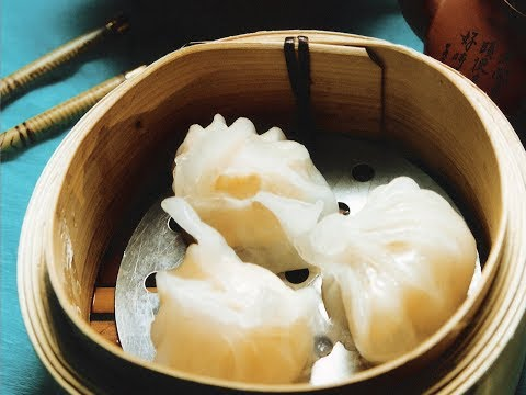 "Fresh Prawn Dumplings #Dim Sum Series # 2 ""Hong Kong Dim Sum""_R5"