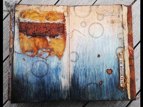 'Off the beaten path'... art journaling