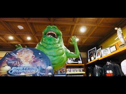 The Film Vault Motion Picture Memorabilia At Universal Studios   Tony Gets Excited