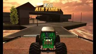 Monster Jam PC On X3100 - All Trucks & GamePlay