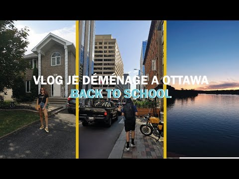 VLOG 1 : De Paris à Ottawa