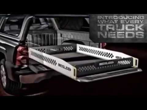 bedslide - truck bed drawers features promo video - youtube