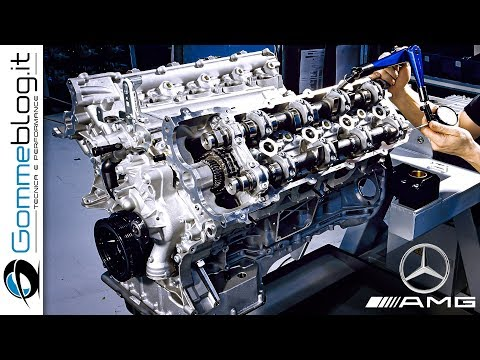 Mercedes AMG V8 ENGINE - PRODUCTION (German Car Factory)