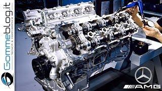 Mercedes AMG V8 ENGINE - PAMAMARAAN (Pabrika ng Kotse ng Aleman)