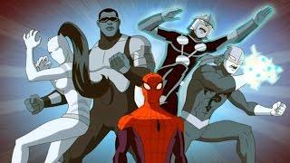 Великий Человек-Паук. Все серии подряд. Сборник мультфильмов Marvel о супергероях. Сезон 1 Серии 1-4