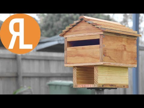 How To Make A Rustic Wood Mailbox