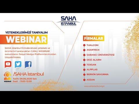 SAHA İstanbul Elektrik Elektronik Komitesi 09.06.2020 Canlı Yayını