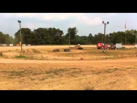 Test Laps at Blanket Hill Speedway in Kittanning, Pennsylvania