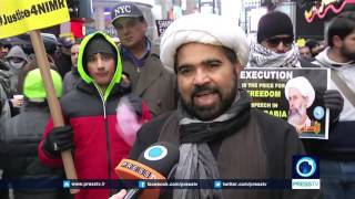 New York demo condemns Saudi crimes