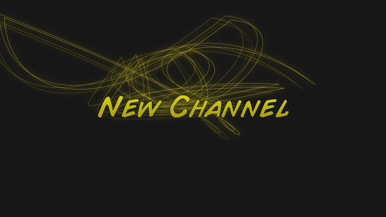 New Channel Check us out - YouTube
