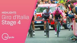 Giro d'Italia 2019 | Stage 4 Highlights | inCycle