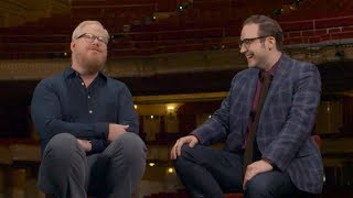 Jim Gaffigan discusses the long and short of long and short comedy sets