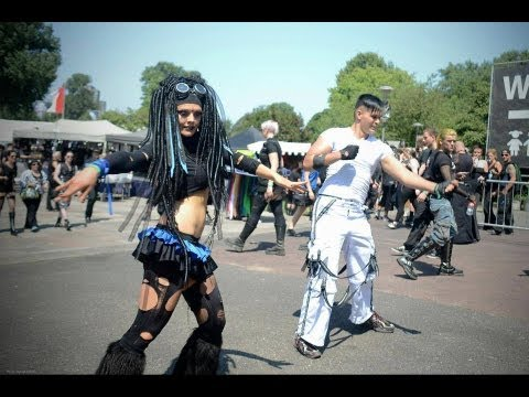 Amphi Festival  - Impression - Industrial Dance - by Ciwana Black - Music from Desastroes