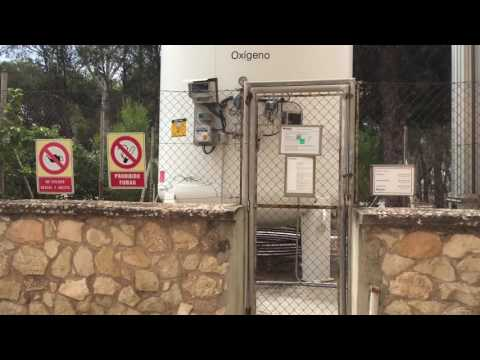 Газификатор кислорода в госпитале г. Аликанте