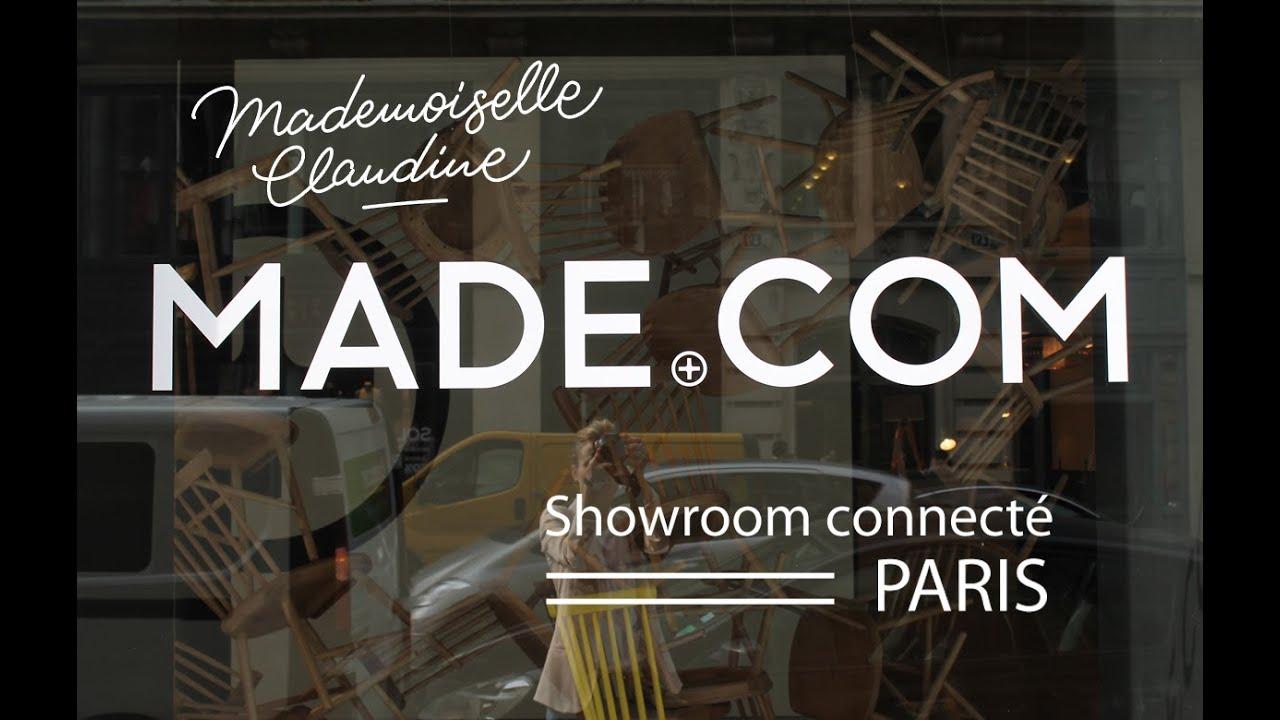 showroom paris visite par mademoiselle claudine youtube. Black Bedroom Furniture Sets. Home Design Ideas