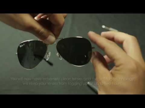Puchi Kit - Short guide to cleaning your glasses or sunglasses
