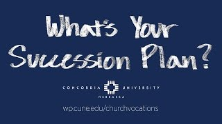 What's Your Succession Plan?